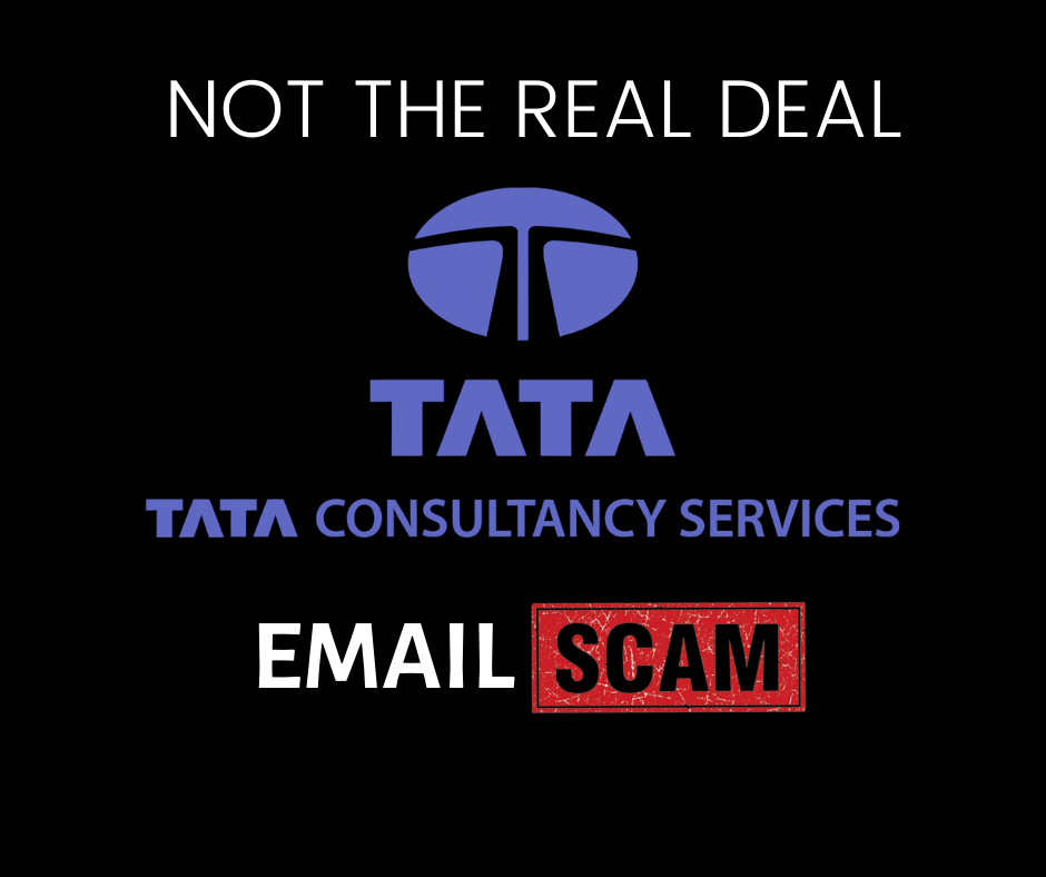 tcs email scam
